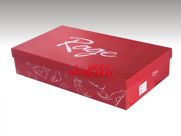 天地盖鞋盒纸盒成型