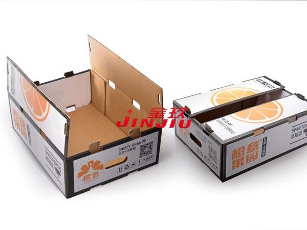 果蔬纸箱盒成型