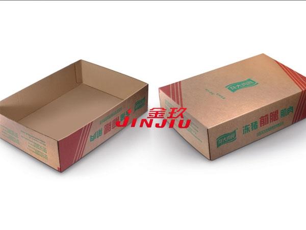 冻猪肉纸箱盒样品