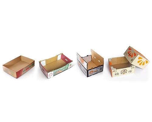 全自动多功能果箱折盒机
