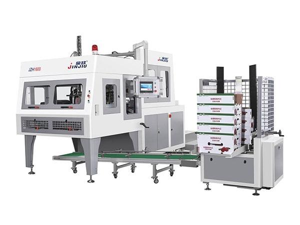 江苏全自动多功能水果盒机成型机