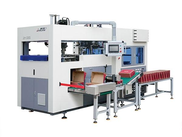 山东高速全自动纸盒成型机