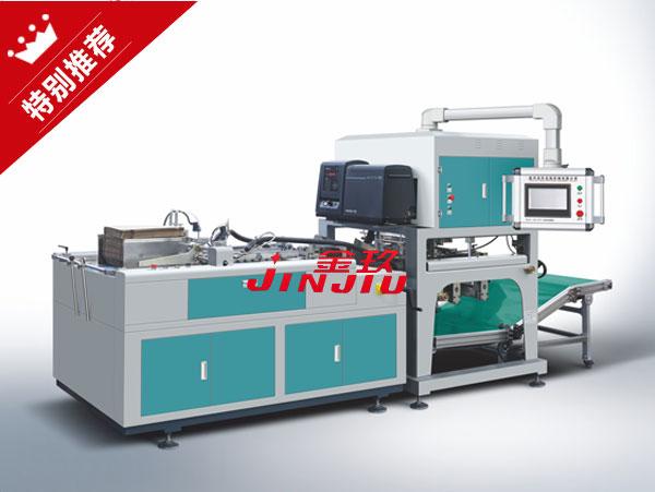 JZH-8065全自动纸盒成型机(鞋盒机)